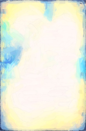 abstract Blue watercolor background paper design of bright color splashes modern art painted canvas background texture atmosphere art photo