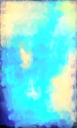 abstract Blue watercolor background paper design of bright color splashes modern art painted canvas background texture atmosphere art Stock Photo - 18606482