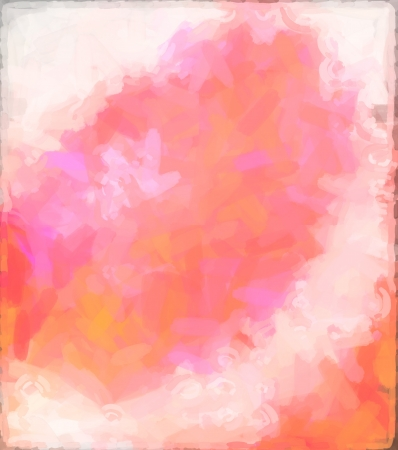 abstract Red watercolor background paper design of bright color splashes modern art painted canvas background texture atmosphere art. Pink watercolor painted paper texture background. photo