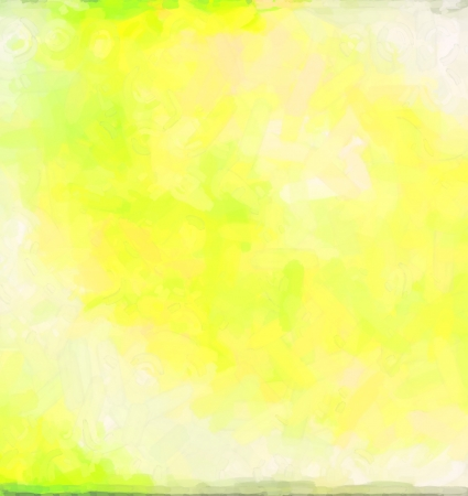 Green Yellow abstract watercolor background paper design of bright color splashes modern art painted canvas background texture atmosphere art photo