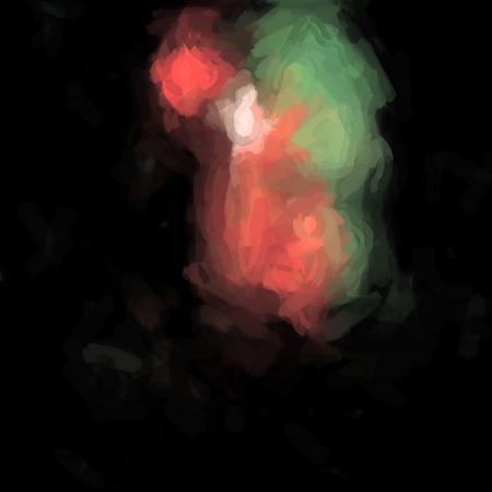 Fondo art�stico abstracto formaci�n de manchas Foto de archivo - 18669654