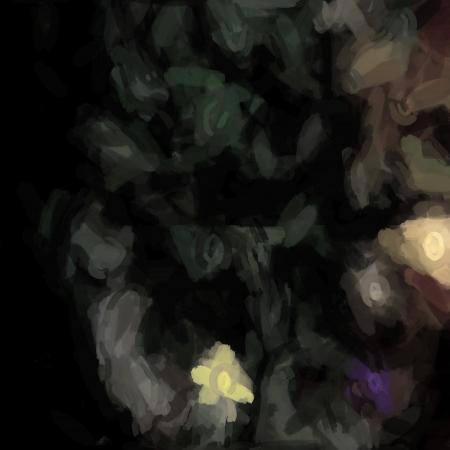 Fondo artístico abstracto formando mediante transferencias Foto de archivo - 18669721