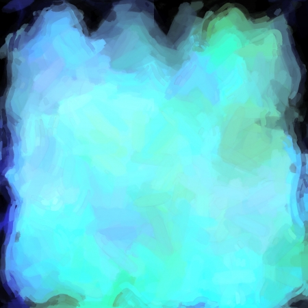 abstract color background of mixed colors like watercolor paint. Spots of light gently mixed on the square backdrop Stock Photo - 18742599