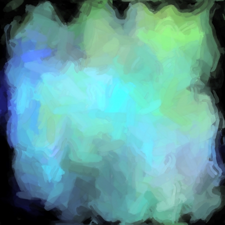 abstract color background of mixed colors like watercolor paint. Spots of light gently mixed on the square backdrop Stock Photo - 18743053