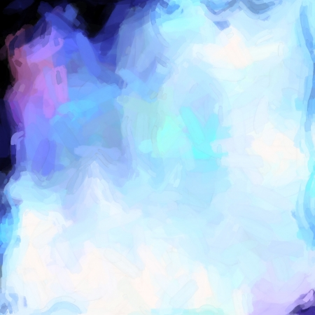 abstract color background of mixed colors like watercolor paint. Spots of light gently mixed on the square backdrop Stock Photo - 18742386