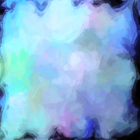 abstract color background of mixed colors like watercolor paint. Spots of light gently mixed on the square backdrop Stock Photo - 18742896