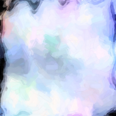 abstract color background of mixed colors like watercolor paint. Spots of light gently mixed on the square backdrop Stock Photo - 18742339