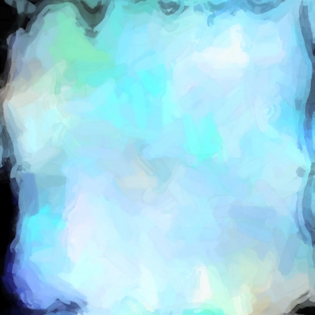 gently: abstract color background of mixed colors like watercolor paint. Spots of light gently mixed on the square backdrop Stock Photo