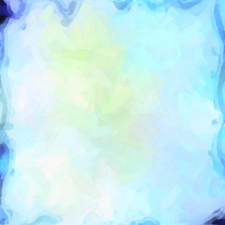 abstract color background of mixed colors like watercolor paint. Spots of light gently mixed on the square backdrop Stock Photo - 18742233