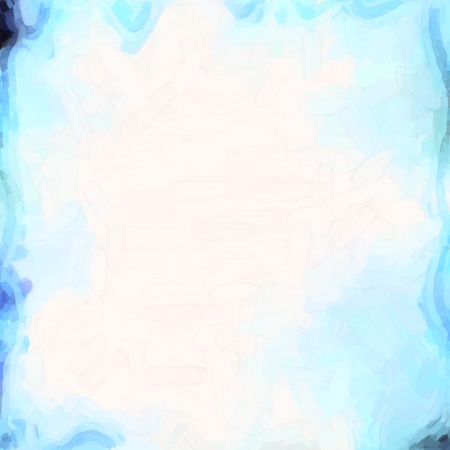 abstract color background of mixed colors like watercolor paint. Spots of light gently mixed on the square backdrop Stock Photo - 18742171