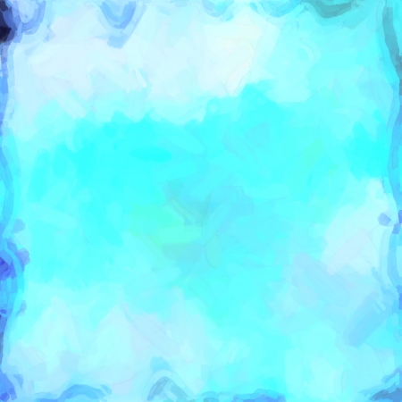abstract color background of mixed colors like watercolor paint. Spots of light gently mixed on the square backdrop Stock Photo - 18742218