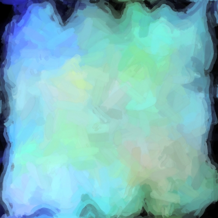 abstract color background of mixed colors like watercolor paint. Spots of light gently mixed on the square backdrop Stock Photo - 18742778