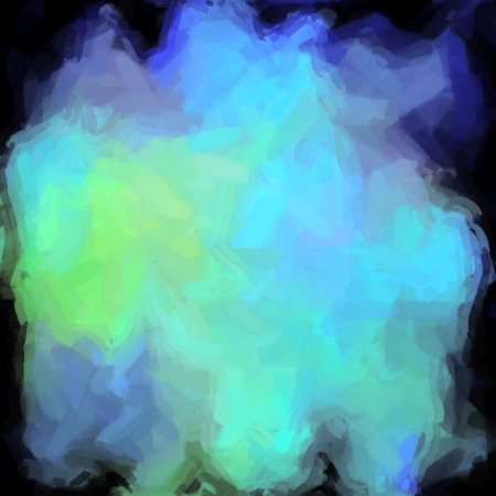 abstract color background of mixed colors like watercolor paint. Spots of light gently mixed on the square backdrop Stock Photo - 18743027