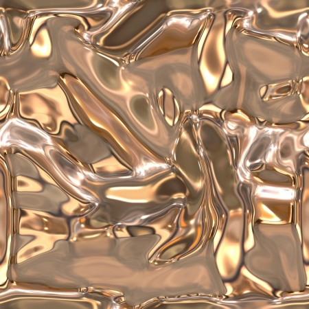 Seamless metallic liquid texture Stock Photo - 19565089