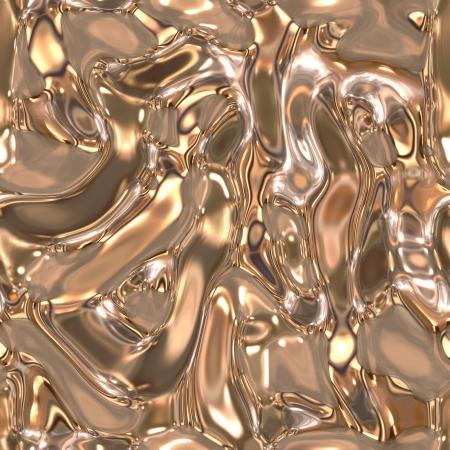 Seamless metallic liquid texture Stock Photo - 19565239