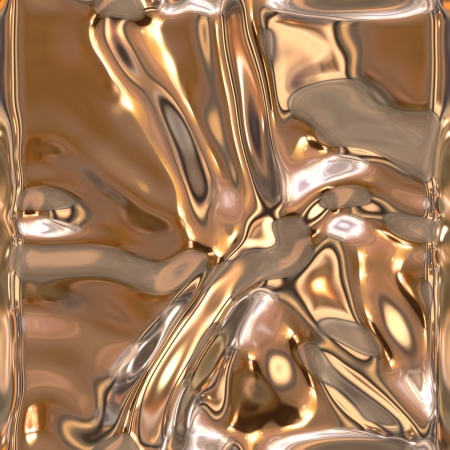 Seamless metallic liquid texture Stock Photo - 19565028