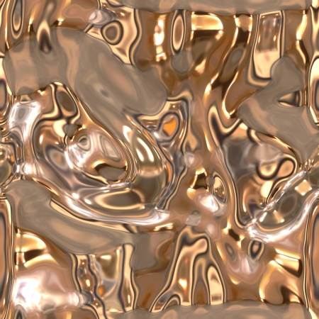 Seamless metallic liquid texture Stock Photo - 19565054