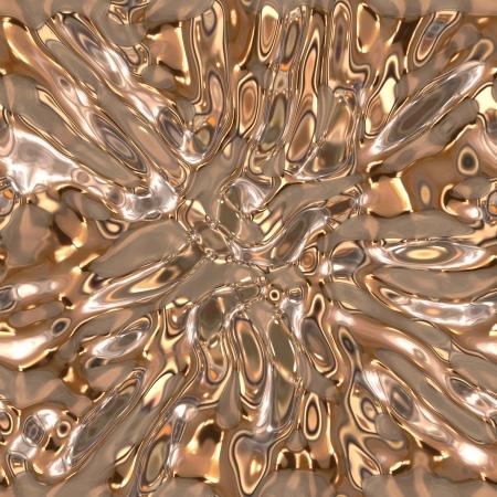 Seamless metallic liquid texture Stock Photo - 19565253
