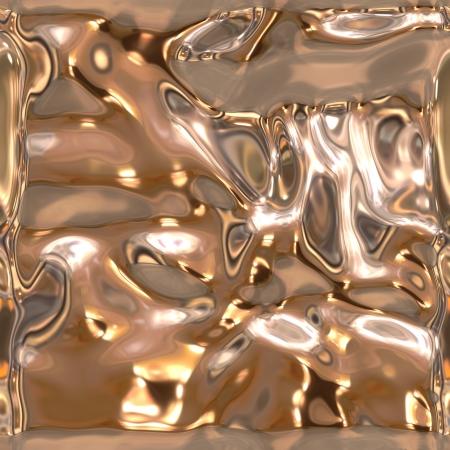 Seamless metallic liquid texture Stock Photo - 19565021