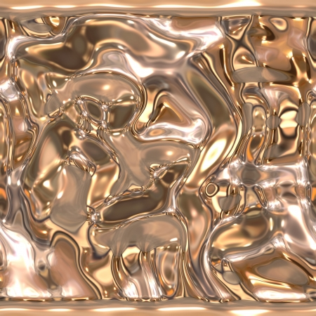Seamless metallic liquid texture Stock Photo - 19565209