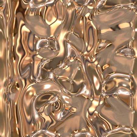 liquefy: Seamless metallic liquid texture Stock Photo