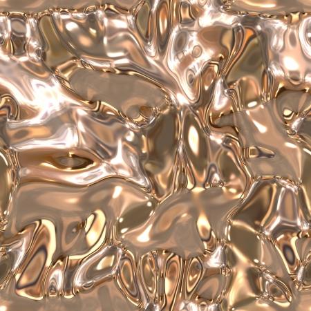 Seamless metallic liquid texture Stock Photo - 19565206