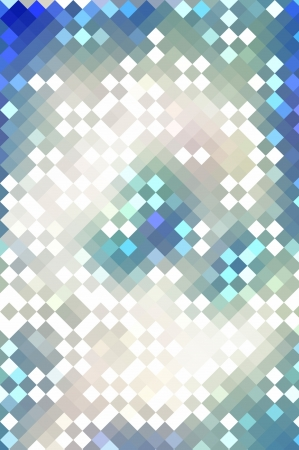 colorful  abstract background pixel oa white and blue colours  different pixels composition photo