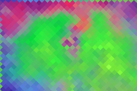 colorful  abstract background radial rays design with colorful pixels photo