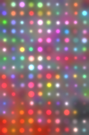 Raster abstract background of colorful dots photo