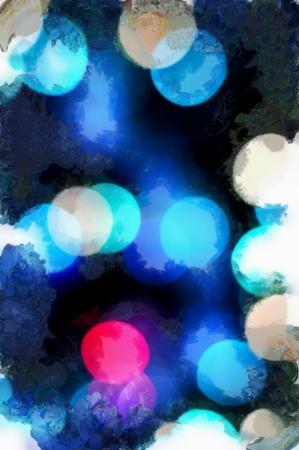 aquarel: Art wallpaper blue aquarel abstract background Stock Photo