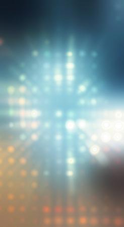 明るいドット背景の要約 写真素材