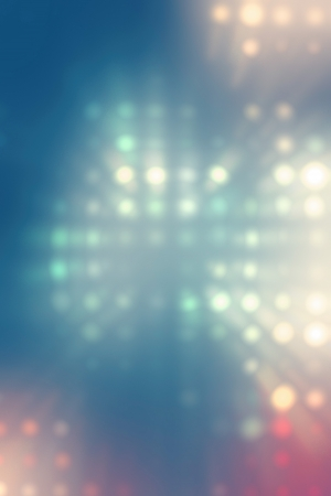 light dots background abstract