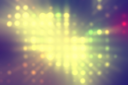 diodes: light dots background abstract, yellow spot  of light in the center
