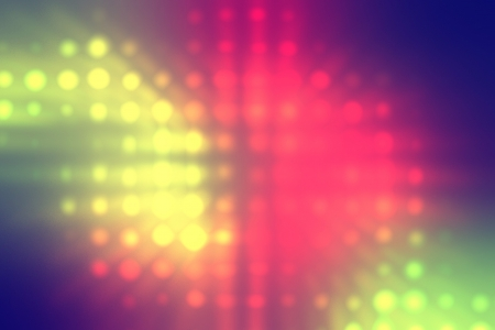 light dots background abstract, red yellow green colors