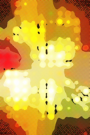 halftone light dots background abstract photo