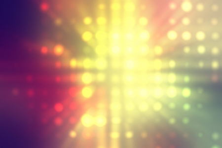 yellow light dots background abstract photo