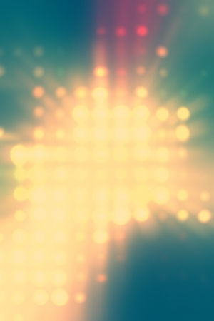 light dots background abstract yellow and green photo