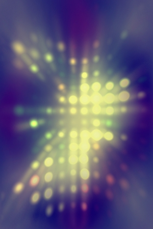 light dots background abstract Stock Photo - 23569907