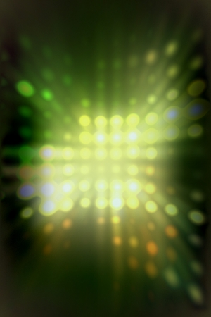 light dots background abstract green photo