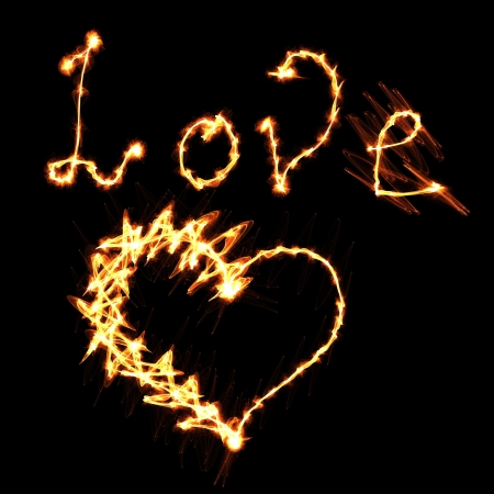 love and heart of fire photo