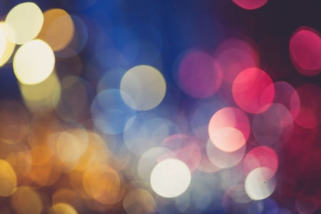 procesed: cross procesed colors of the xmas background