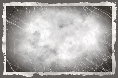Empty backdrop grungy frame for text Vector