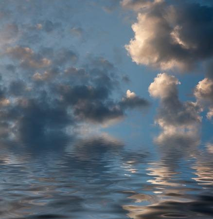 ocea: Sky over the ocea or sea wallpaper