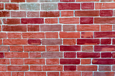 replicate: Red brick wall seamless background - texture pattern for continuous replicate.