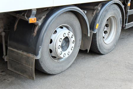 Whells of a truck closeup image photo
