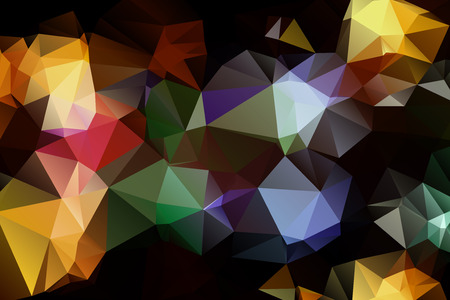 parallelepiped: Pattern of geometric shapes. Triangles.Texture with flow of spectrum effect. Geometric background. . Retro pattern of geometric shapes.