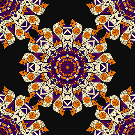 vector fabric: Arabesque seamless pattern. Background vintage flower. Texture vector Fabric illustration.
