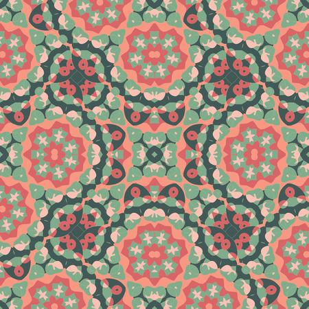 orient: Seamless Oriental Wallpaper. Endless Orient Inspired Background. Illustration