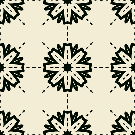 persia: Stylized abstract seamless tiled wallpaper.