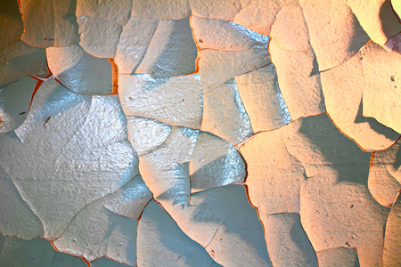 weathered: Weathered wall with cracks